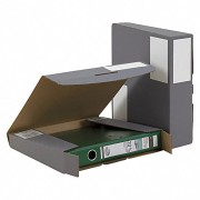 Ordner-Transport-Box anthrazit
