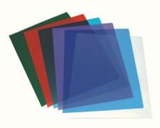 Deckblätter transparent