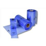 Schlauchfolie Blau-Transparent