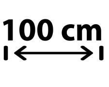 100 cm Breite