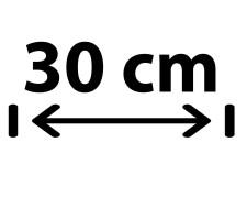 30 cm Breite