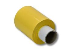 Bündelstretchfolie 100 mm 23my GELB, Kernlänge 140 mm, 150m