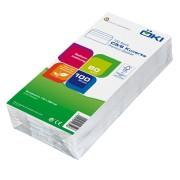 ÖKI Briefumschläge Kuvert C5/6 110x220mm weiß, 80 gr. selbstklebend, 100 Stk.