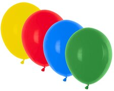 Luftballons bunt gemischt Ø 300 mm, Größe L, 100 Stk.