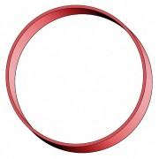 Gummiringe Gummibänder Ø 100mm, 5 mm in rot, ca. 300 Stk., 1000 gr.- 1 kg.