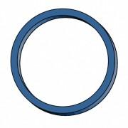 Gummiringe Gummibänder Ø  30mm, 1 mm in blau, ca. 200 Stk., 50 gr.