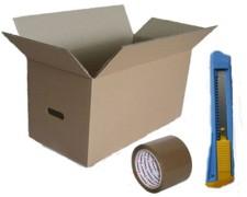 Umzugskarton-Vorteils-SET Home&Office Basic, 7 tlg.