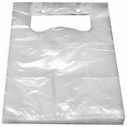 Knotenbeutel für 2 kg HDPE transparent, 400 x 227 mm, geblockt, 100 Stk.
