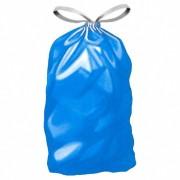 Müllsäcke mit Zugband 120 Liter, 70 x 100 cm, Typ 60, blau, 10 Stk.