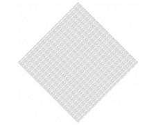 Damastmitteldecken 80 x 80 cm weiß, 250 Stk.