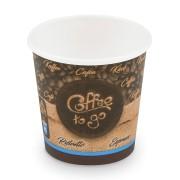 Kaffeebecher XS Coffee To Go für Espresso Ristretto 80 ml 110 ml,  50 Stk.
