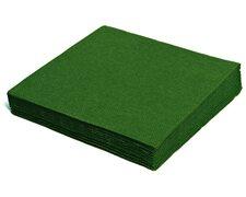 Servietten 33 x 33 cm 1/4 -Falz, 2-lagig dunkelgrün,  50 Stk.