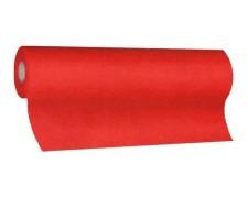 Tischläufer Airlaid 24m x 40cm - alle 120cm perforiert, stoffähnlich, rot