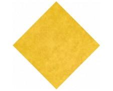 Mitteldecken Airlaid 80 x 80 cm, stoffähnlich, hochwertig gelb, 20 Stk.