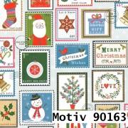 Weihnachtsgeschenkpapier 70 cm x 200 m | Motiv 90163 Schneemann Snowman