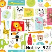 Geschenkpapier Special Giftwrap 100 cm x 200 m | Motiv 922 Baby Zoo Tiere