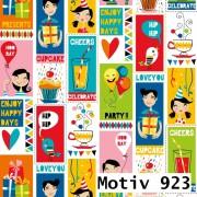 Geschenkpapier Special Giftwrap 100 cm x 200 m | Motiv 923 Kinder Comic