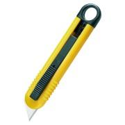 Sicherheitscuttter Schneidemesser mit Zugfeder ultraleicht mit Aufhängeöse