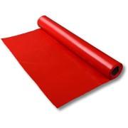 LDPE-Folie Dekofolie Tischdecke, rot opak, 2300mm x 50m, 100my
