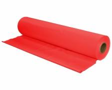 Tischtuch Tischdecke Biertischdecke LDPE rot perforiert auf Rolle 0,70 x 240m