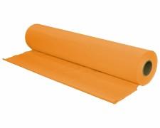 Tischtuch Tischdecke Biertischdecke LDPE orange perforiert auf Rolle 0,70 x 240m