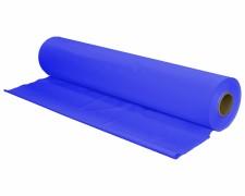 Tischtuch Tischdecke Biertischdecke LDPE blau perforiert auf Rolle 0,70 x 240m