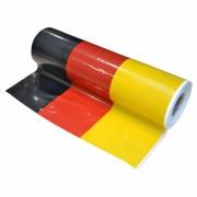 Biertischdecke Tischtuch Deutschland Flagge perforiert auf Rolle 0,70 x 240m