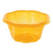 BIO Eisbecher aus Mais-Biokunststoff (PLA), orange, 130ml, 50 Stk.