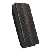 Whiteboard Memoboard Schwamm Plastikgehäuse mit Magnethalterung Schwarz