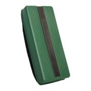Whiteboard Memoboard Schwamm Plastikgehäuse mit Magnethalterung, Grün
