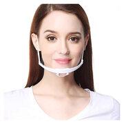 Kunststoff-Visier für Mund | Nase mit Kinnstütze größenverstellbar