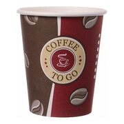 Kaffeebecher Topline, Coffee to go, Pappe beschichtet,  8oz., 200 ml, 50 Stk.