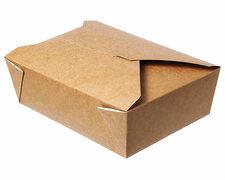 Menübox Lunch-Box, 1600 ml, Green by Nature, 200x140x65 mm, 50 Stk.