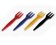 Snackgabel Schaschlikgabel, 87mm, lebensmittelecht, farbig sortiert, 1000 Stk.