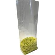 Kreuzbodenbeutel OPP 120 x 225mm transparent mit Siegelnaht 30my, 1000 Stk.