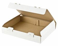 Maxibriefkarton und Warensendung Versandkarton, 305x220x46mm für Din A4, weiß