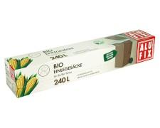 ALUFIX Einlegesäcke für Biotonne 240 L, biologisch abbaubar kompostierbar 4 Stk.