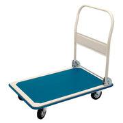Plattformwagen Transportwagen robust, bis 150kg, blau