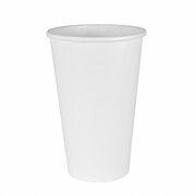 BIO Heißgetränkecher CoffeeToGo weiß 400ml 100% Reycling FSC, 50 Stk.