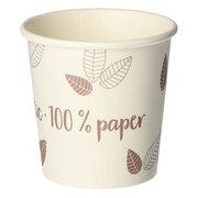 BIO Heißgetränke Trinkbecher Coffee to Go unbeschichtet lila 100ml, 80 Stk.