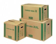 progressCARGO CARGOBOX XS - Umzugskarton Transportkarton, 465x347x400mm