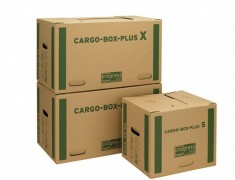 progressCARGO CARGOBOX PLUS X - Umzugskarton Transportkarton, 660x350x360mm