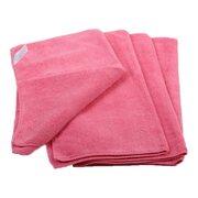 Premium Mikrofasertücher 40x40cm rosa, waschbar extra stark, 20 Stk.