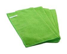 Premium Mikrofasertücher 40x40cm grün, waschbar extra stark, 20 Stk.