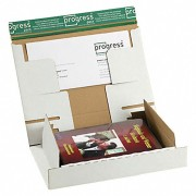 Post-Versandkarton PACKBOX-XM SK-Verschluss Aufreißfaden 298x215x43mm weiß, A4