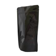 Standbodenbeutel PET schwarz glänzend 130x225x70mm, 500ml, 500 Stk.