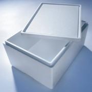 Isolierbox mit Deckel aus Styropor EPS, 442 x 320 x 209 mm, 19 Liter