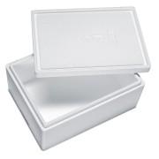 Isolierbox mit Deckel aus Styropor EPS, 385 x 285 x 174 mm, 10,5 Liter