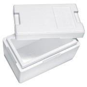 Isolierbox mit Deckel aus Styropor EPS, 330 x 200 x 185 mm, 4,7 Liter