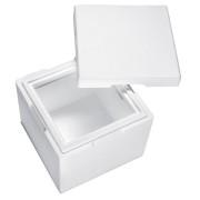 Isolierbox mit Deckel aus Styropor EPS, 350 x 350 x 300 mm, 12,5 Liter
